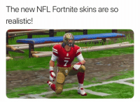 NFL: The new NFL Fortnite skins are so  realistic!  7