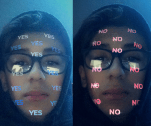 the new snapchat filter seemed familiar: the new snapchat filter seemed familiar
