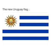 Soccer, Sports, and France: The new Uruguay flag. Can anyone take down France?