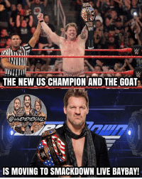 Our new United States Champion, Chris Jericho baybay! 🔥🤘 I'm happy he won the belt, but I'm also a little confused, because there's rumors of Jericho's run in WWE coming to an end soon and I don't know why KO had such a short reign, it's damn shame considering how good he is :( Hopefully KO gets a main event push in the future, but for now, drink in The Gift Of Jericho maaaaaaannnnnnnn 🙌 @chrisjerichofozzy kevinowens chrisjericho romanreigns braunstrowman sethrollins ajstyles deanambrose randyorton braywyatt jindermahal thehardyboyz charlotte shinsukenakamura samizayn johncena sashabanks brocklesnar goldberg bayley alexabliss themiz finnbalor kurtangle payback wwememes wwememe wwefunny wrestlingmemes wweraw wwesmackdown: THE NEW US CHAMPION AND THE GOAT  IS MOVING TO SMACKDOWN LIVE BAYBAY! Our new United States Champion, Chris Jericho baybay! 🔥🤘 I'm happy he won the belt, but I'm also a little confused, because there's rumors of Jericho's run in WWE coming to an end soon and I don't know why KO had such a short reign, it's damn shame considering how good he is :( Hopefully KO gets a main event push in the future, but for now, drink in The Gift Of Jericho maaaaaaannnnnnnn 🙌 @chrisjerichofozzy kevinowens chrisjericho romanreigns braunstrowman sethrollins ajstyles deanambrose randyorton braywyatt jindermahal thehardyboyz charlotte shinsukenakamura samizayn johncena sashabanks brocklesnar goldberg bayley alexabliss themiz finnbalor kurtangle payback wwememes wwememe wwefunny wrestlingmemes wweraw wwesmackdown