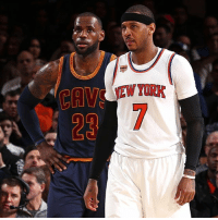 """The New York Knicks just need to face the facts that they won't get anything in return from just trading Carmelo Anthony. Just buyout his contract for god sakes and rebuild over Porzingis. Carmelo Anthony doesn't want to leave NYC and we know that, loyalty, but it's time to move on and chase that ring. If you want to win, Cleveland is that destination. The King will do whatever it takes to make him comfortable. Carmelo at age 33 is still a 20PPG scorer and will help us on offense but defense is questionable. If the Knicks and Melo do agree on a buyout, only Cavs and Rockets are interested. Cavs can sign him to $5.2M deal, it may sound crazy for how much money they can throw in but willing to sign whatever to """"win."""" DefendTheLAND: The New York Knicks just need to face the facts that they won't get anything in return from just trading Carmelo Anthony. Just buyout his contract for god sakes and rebuild over Porzingis. Carmelo Anthony doesn't want to leave NYC and we know that, loyalty, but it's time to move on and chase that ring. If you want to win, Cleveland is that destination. The King will do whatever it takes to make him comfortable. Carmelo at age 33 is still a 20PPG scorer and will help us on offense but defense is questionable. If the Knicks and Melo do agree on a buyout, only Cavs and Rockets are interested. Cavs can sign him to $5.2M deal, it may sound crazy for how much money they can throw in but willing to sign whatever to """"win."""" DefendTheLAND"""
