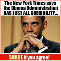 Family Guy, Memes, and The Voice: The New York Times says  the Obama Administration  HAS LOST ALL CREDIBILITY  SHARE if you agree! He never had any in my opinion.... #Obama #Treason facebook.com/exposethetruthtoday  We'd like to invite you to the newest member of the Voice family guys,Stop by and check it out facebook.com/groups/TVOTPMovement/