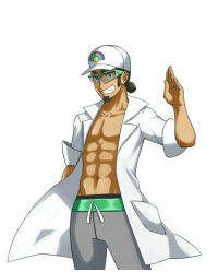 The newest Pokemon professor for anyone who hasn't seen yet. Professor Kukui. Sun and Moon. Aloa region.  What are your thoughts?  ~ Asuma: The newest Pokemon professor for anyone who hasn't seen yet. Professor Kukui. Sun and Moon. Aloa region.  What are your thoughts?  ~ Asuma
