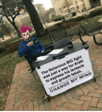 Anime, Notorious BIG, and Express: The Notorious BIG fight  was just a way for Araki  to express his tentacle  and growth fetish.  CHANGE MY MIND