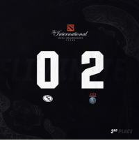 There will not be a repeat. We fall 2-0 to @LGDgaming in the Lower Bracket Final of #TI8. We take home third place.  Thank you so much to our fans and for your support this year. It means the world to us, and we're happy with the improvement we were able to make.  #BleedBlue https://t.co/wZjzSIpRTb: The  nternational  DOTA 2 CHAMPIONSHIPS  ZGD  R.  3RD  D PLACE There will not be a repeat. We fall 2-0 to @LGDgaming in the Lower Bracket Final of #TI8. We take home third place.  Thank you so much to our fans and for your support this year. It means the world to us, and we're happy with the improvement we were able to make.  #BleedBlue https://t.co/wZjzSIpRTb