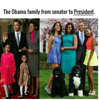 Beautiful, down to earth family who represented us beautifully through the years. ❤ theblaquelioness: The Obama family from Senator to hresident Beautiful, down to earth family who represented us beautifully through the years. ❤ theblaquelioness