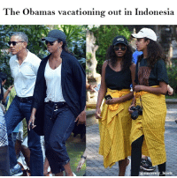 Black Lives Matter, Lit, and Memes: The Obamas vacationing out in Indonesia  @sincerely_black  @sincerely black Repost from @sincerely_black_ Lit, as usual myblackness melanin melaninonfleek melaninpoppin blackbeauty blackisbeautiful panafrican panafricanism blackpride blackpower black blackgirl blackman blackfamily blackbaby blacklivesmatter obama obamas