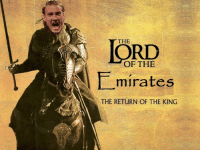 Lord Bendtner hath returned to his domain.: THE  OF THE  minates  THE RETURN OF THE KING Lord Bendtner hath returned to his domain.