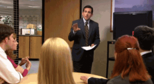 The Office knew what oddly satisfying is.: The Office knew what oddly satisfying is.