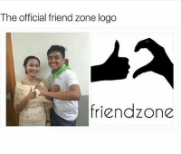 My boy took an L 😂💀: The official friend zone logo  riendzone My boy took an L 😂💀
