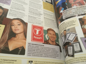 """Pewdiepie made it into Guinness world records 2020!!! We did it gamers!: The official video for the track """"Boy with Luv"""" by BTS  74,600,000 views on 12-13 Apr 2019. BTS overtook E  BLACKPINK (right), whose video for """"Kill this Love"""" t  56,700,000 views the week before, on 4-5 Apr.  ved  the general public  noST-LIKED IMAGE ON INSTAGRAH  A simple picture of an egg has goined  5.3.427.865 likes. It was posted  on 4 Jan 2019 by the Egg Bang os  the account @world record.egg.  Later, it emerged that the Egg Gann  are using their record breaking  Instagram image as a platform to  support people who sufter from  stress and anxiety brought about  by the pressures of social media.  honouring the best in  orean television and musie.  The chart-topping BTS (@@BTS_twt) have also  engagements (average retweets)- 422.228.  Idumag enuuy  Most-downvoted comment on Reddit  An official post by videogames  publisher Electronte Arts.responding  to players' complaints about having  to undock characters such as Darth  Vader and Luke Skywafker in Stor  Wors Bottiefront i(2017)through """"loot  boxes"""", has 683.000 downvotes.  s attracted  wwmost-foltowed Linkedin user is  ie Richard Branson(UK), the founder  of Virgin, with 15.732.651 followers.  Irwin  her Terri  9181  MOST-VIEWED YOUTUBE MUSIC VIDED IN 24  Most followers on Twitter  Pop singer Katy Perry (USA.  b. Katheryn Hudson) currently  has 107.2779,315 Twitter followers.  Robert, a witefiife  he irwin family own  Dueenstand.  in many ideos. Peterson interacts  Most followers on Welbo  TV host, singer and actress Xie Na  (CHN)has 123.810,773 fans on the  Chinese microblogging website. On  7Apr 2018, she became the first person  with 100 million followers on WNelbo.  Meanwhile. former US president  Barack Obama(@barackobama)  himself to be stung or bitten.  Apr 2019,  sicated  Most-viewwed YouTube music video  in 24 hours by a solo artist  On 26-27 Apr 2019. Taytor Swift (USAI  had 65.2 million viewS of her videofor  """"MEP, featuring Br"""