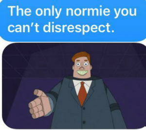 Respect 1000: The only normie you  can't disrespect. Respect 1000