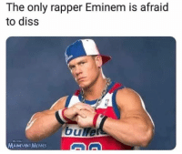 Diss, Eminem, and Memes: The only rapper Eminem is afraid  to diss  bullets  MAINEVENT MEMES