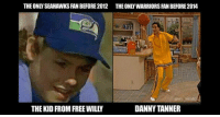 😂: THE ONLY SEAHAWKS FAN BEFORE 2012  THE ONLY WARRIORS FAN BEFORE 2014  ONFL MEMES  THE KID FROM FREE WILLY  DANNY TANNER 😂
