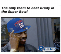 Fact GiantsPride 🏈: The only team to beat Brady in  the Super Bowl  Penu  Tut-Thue  Tty  GIANTS PRIDE Fact GiantsPride 🏈