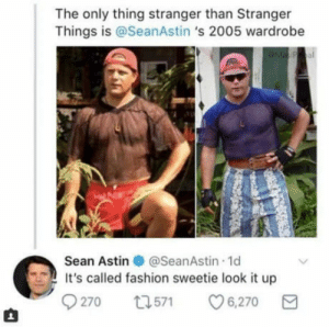 71e534865 Fashion, Superhero, and Sean Astin: The only thing stranger than Stranger  Things is