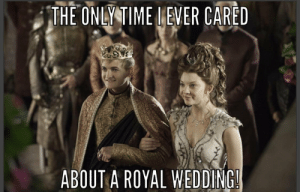 Truth!!: THE ONLY TIME I EVER CARED  ABOUT A ROYAL WEDDING Truth!!