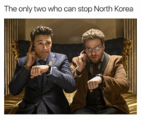 Actually Seth Rogen's laugh could win alone: The only two who can stop North Korea Actually Seth Rogen's laugh could win alone