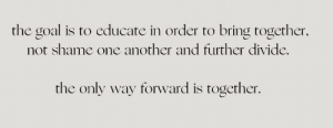 The only way forward is together ❤️ https://t.co/YhFIWsCutc: The only way forward is together ❤️ https://t.co/YhFIWsCutc