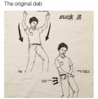 Memes, True, and 🤖: The original dab  suck it  fig. 1 / So true.
