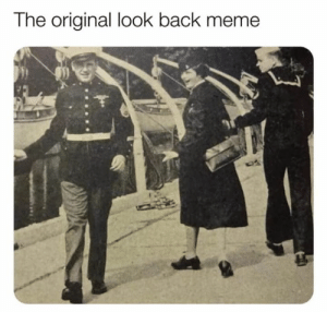 Dank, Meme, and Memes: The original look back meme Ancient memes.
