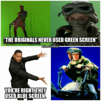 """I didn't know there was this much green in the whole galaxy. - - ( StarWars RevengeoftheSith TheForceAwakens ReturnOfTheJedi ObiWanKenobi EwanMcgregor Rey DaisyRidley WillSmith PrincessLeia CarrieFisher Leia LukeSkywalker MarkHamill GreenScreen BlueScreen): """"THE ORIGINALS NEVER USED GREEN SCREEN""""  @TheGoldClaw  THEY  VOU'RE RIGHT  USED BLUE SCREEN I didn't know there was this much green in the whole galaxy. - - ( StarWars RevengeoftheSith TheForceAwakens ReturnOfTheJedi ObiWanKenobi EwanMcgregor Rey DaisyRidley WillSmith PrincessLeia CarrieFisher Leia LukeSkywalker MarkHamill GreenScreen BlueScreen)"""
