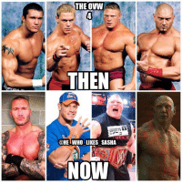 No doubt the greatest developmental class in WWE history. Which member is your favorite? For me all are in my top 10 but I gotta go Cena. It'd be pretty awesome to see this Fatal 4 way one day given the history but I sadly doubt it'll ever happen. wwe wwememe wwememes johncena youcantseeme randyorton rko theviper wwechampion universalchampion brocklesnar suplexcity paulheyman batista samoajoe moneyinthebank wrestler wrestling wrestlemania prowrestling professionalwrestling worldwrestlingentertainment wweuniverse wwenetwork wwesuperstars raw wweraw mondaynightraw smackdown smackdownlive: THE OVW  THEN  @HET WHO LIKES SASHA  NOW No doubt the greatest developmental class in WWE history. Which member is your favorite? For me all are in my top 10 but I gotta go Cena. It'd be pretty awesome to see this Fatal 4 way one day given the history but I sadly doubt it'll ever happen. wwe wwememe wwememes johncena youcantseeme randyorton rko theviper wwechampion universalchampion brocklesnar suplexcity paulheyman batista samoajoe moneyinthebank wrestler wrestling wrestlemania prowrestling professionalwrestling worldwrestlingentertainment wweuniverse wwenetwork wwesuperstars raw wweraw mondaynightraw smackdown smackdownlive