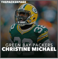 THE PACKER PAGE  GREEN BAY PACKERS  CHRISTINE MICHAEL RB Christine Michael is re signing with the Packers. Welcome back, C-Mike! Packers NFL GoPackGo (H-T @ustadium)