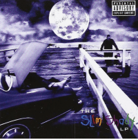 Eminem, Memes, and Wshh: THE  PARENTAL  ADVISORY  EXPLICIT CONTENT  LP 18 years ago today, Eminem released his second studio album TheSlimShadyLP featuring the songs MyNameIs, GuiltyConscience, and RoleModel! What's y'all favorite track off this album?! 🔥💯 @Eminem Classic HipHop History WSHH