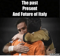 Memes, Italy, and 🤖: The past  Present  And Future of Italy  Via:Mn Football Yes! 🙌 🔺LINK IN MY BIO! MERRY XMAS ☃🌲