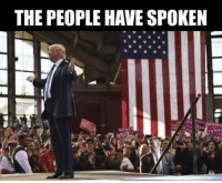 I just want to thank everyone who follows my page. We did it! We won the house and the senate as well! Even if it ended in a 269 to 269 tie, congress would vote for Trump. We have the most power for republicans since 1929! TRUMP 2016!!! Our new President of The United States! We will continue to grow and spread the word! We will be ready again in 2020! Let's go my fellow American's and celebrate! Don't EVER underestimate the American people and our true voice, many of us just waiting to pounce, first time voters, millions that did not vote in the primary waited until the election. The polls were off but that's okay. *&^% The MEDIA. <3: THE PEOPLE HAVE SPOKEN  EwOME  WOMEN  TRWON I just want to thank everyone who follows my page. We did it! We won the house and the senate as well! Even if it ended in a 269 to 269 tie, congress would vote for Trump. We have the most power for republicans since 1929! TRUMP 2016!!! Our new President of The United States! We will continue to grow and spread the word! We will be ready again in 2020! Let's go my fellow American's and celebrate! Don't EVER underestimate the American people and our true voice, many of us just waiting to pounce, first time voters, millions that did not vote in the primary waited until the election. The polls were off but that's okay. *&^% The MEDIA. <3