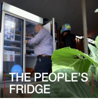 Community, Food, and Memes: THE PEOPLE'S  FRIDGE 20 APR: Does a fridge in London have the answer to food waste? A community fridge has been installed in south London where people can leave unwanted food for other residents who need it. Crowdfunding has paid for the People's Fridge in Brixton, which allows restaurants, shops and members of the public to donate food. The project aims to cut waste and help people in need. Watch more: bbc.in-fridge CommunityFridge PeoplesFridge BBCWorldHacks London Food Waste Fridge Community BBCShorts BBCNews @BBCNews