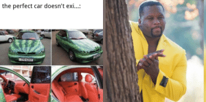 First OC happened to be a racist meme: the perfect car doesn't exi..:  P370-62KT First OC happened to be a racist meme