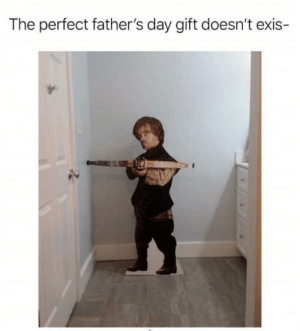 For the dad that has everything: The perfect father's day gift doesn't exis- For the dad that has everything
