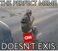 America, cnn.com, and Meme: THE PERFECT MEME  CNN  DOES  N'T EXIS YOU'RE WELCOME, AMERICA. Because FuckYourJihad @cnn. You and so many other massmedia and socialmedia outlets have been in the game of datamanipulation and informationcontrol, you deserve every bit of hatred you receive. There is no honesty in most mediaoutlets, only the demand for ratings. Ratings=Money=Power