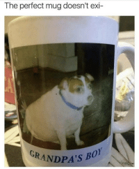 Memes, 🤖, and Yes: The perfect mug doesn't exi-  GRANDPA's B  0 uhm yes it does