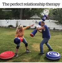 Therapy, This, and Relationship: The perfect relationship therapy  Storytrender Does your partner need this? 😂😱