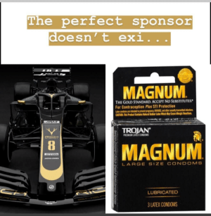 Wankers better not blow this opportunity: The perfect sponsor  doesn' t exi..  TRO  MAGNUM  THE GOLD STANDARD. ACCEPT NO SUBSTITUTES  For Contraception Plus STI Protection  Latex condoms are intended to prevent pregncy VSand other seally bransmitted iefections  CAUTION: This Product Contains Hatural Rubber Lates Which May Cuse Ailergic Reactions  TROJAN  PREMIUM LATEX CONDOMS  RIGH  MAGNUM  JACK&JONES  LARGE SIZE CONDOMS  LUBRICATED  A5TON  3 LATEX CONDOMS Wankers better not blow this opportunity
