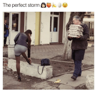 Storm, Man, and Perfect Storm: The perfect storm <p>This Poor Man</p>