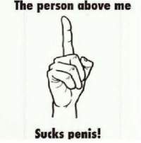 repost from @samadsavage Comment their name 😏: The person above me  Sucks penis! repost from @samadsavage Comment their name 😏