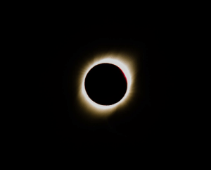 Argentina, Eclipse, and Today: The picture I took today during the total solar eclipse in Argentina