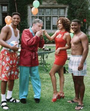 @ the playboy mansion: @ the playboy mansion