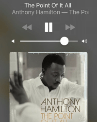 💨💨💨: The Point Of It All  Anthony Hamilton  The Po  ANTHONY  HAMILTON  THE POINT 💨💨💨