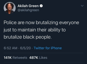 the police should start by policing their own (via /r/BlackPeopleTwitter): the police should start by policing their own (via /r/BlackPeopleTwitter)