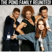 Family, Memes, and 🤖: THE POND FAMILY REUNITED