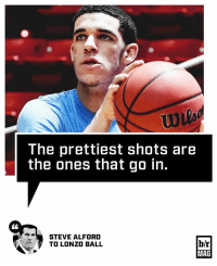 If you think Lonzo Ball's shot is ugly, think again. BRmag (link in bio): The prettiest shots are  the ones that go in  STEVE ALFORD  b/r  TO LONZO BALL  MAG If you think Lonzo Ball's shot is ugly, think again. BRmag (link in bio)