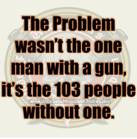 Memes, Conservative, and 🤖: The Problem  wasn't the one  man with a gun,  it's the 103 people  without one.  www.UncleSamsMisquidedChildren.comm UncleSamsMisguidedChildren ZeroFucks USMCNation HillaryForPrison2016 hillaryforprison Mattis2016 USMC SemperFi USMCLIFE IGTactical Veteran USA Grunts INFIDEL OUTLAW USMCVETERAN Tactical SemperFidelis NRA MakeAmericaGreatAgain MolonLabe 2A USMarines 03Life 0311 SecondAmendment Conservative TrumpTrain USA MERICA Oathkeepers