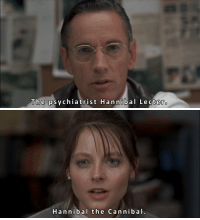 Tumblr, Blog, and Http: The psychiatrist Hannibal Le ctero   Hannibal the Cannibal. classichorrorblog:   The Silence Of The LambsDirected by Jonathan Demme (1991)