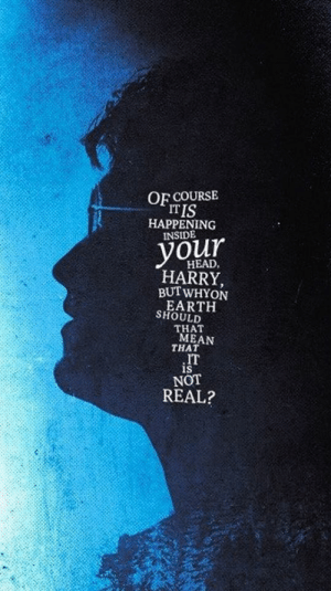 The psychotic breaking point of Daniel Radcliffe when his voices start to tell him he is a real wizard named Harry, the year 2001: The psychotic breaking point of Daniel Radcliffe when his voices start to tell him he is a real wizard named Harry, the year 2001