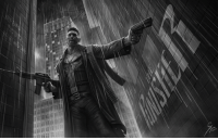 "Love, Memes, and Deviantart: ""The Punisher"" by Greg http://grzegoszwu.deviantart.com/  (Nerds Love Art)"